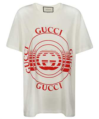 Gucci 615044 XJCQ8 DISK PRINT T-shirt