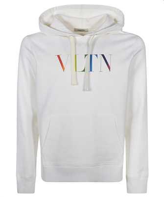 Valentino VV3MF14F72W VLTN MULTICOLOUR LOGO Kapuzen-Sweatshirt