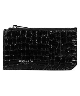 Saint Laurent 631992 DND0N FRAGMENTS Porta carte di credito