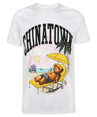 Chinatown Market 1990270 SMILEY BEACH BEAR T-shirt