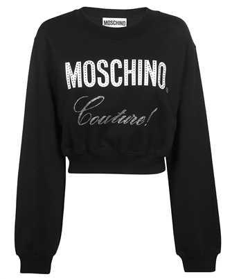 Moschino A 1714 5527 CRYSTAL LOGO Sweatshirt