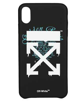 Off-White OMPA011R20294005 DRIPPING ARROWS iPhone XS MAX cover
