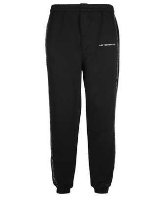 Vetements UA52PA300B LOGO TAPE SWEAT Trousers