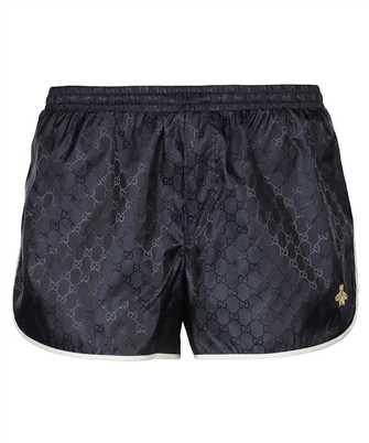 Gucci 410571 XR898 GG NYLON WITH BEE Swim shorts