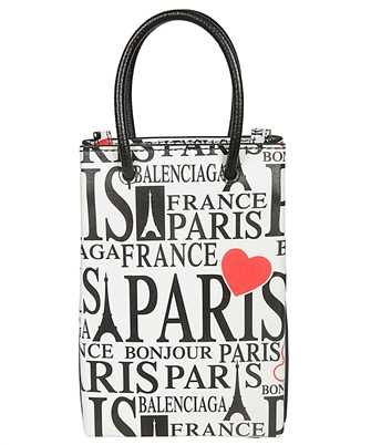 Balenciaga 593826 1BW5N BONJOUR PARIS 18cm x 12,5cm iPhone cover