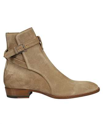 Saint Laurent 498372 BT300 WYATT JODHPUR Boots