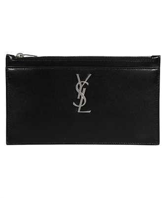 Saint Laurent 636330 0SX0E TINY MONOGRAM FRAGMENTS Document case