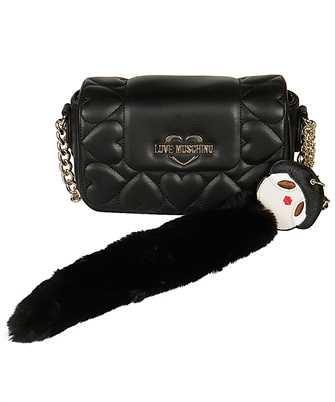 LOVE MOSCHINO JC4082PP18 LO0 FUR DOLL CHAIN Bag