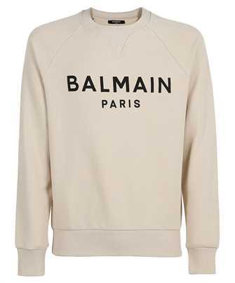 Balmain WH1JQ005B115 PRINTED LOGO Sweatshirt