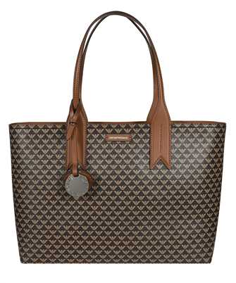 Emporio Armani Y3D099 YFG5E ALL-OVER LOGO TOTE Bag