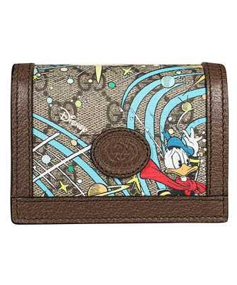 Gucci 648121 2M1AT DISNEY X GUCCI DONALD DUCK Card holder
