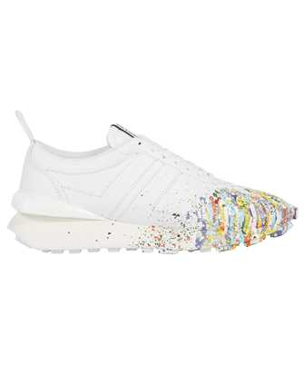 Lanvin FM SKBRUC SGGD E21 PAINTED NAPPA LEATHER BUMPR RUNNING Sneakers