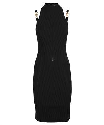 Versace 1000968 1A00664 MEDUSA RIBBED KNIT Dress