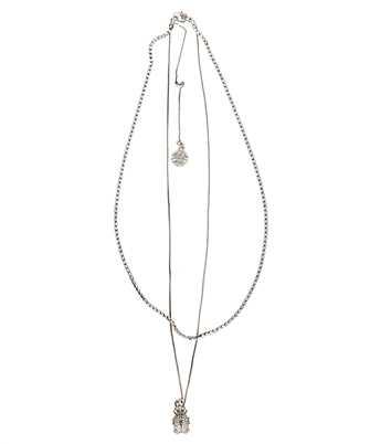 Alexander McQueen 589875 J160Y PAVE BEETLE Necklace
