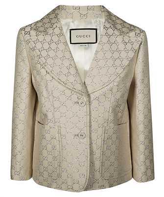Gucci 623766 ZAD7L GG LAME Jacket