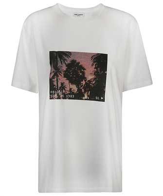 Saint Laurent 646187 Y36AA VHS SUNSET T-shirt