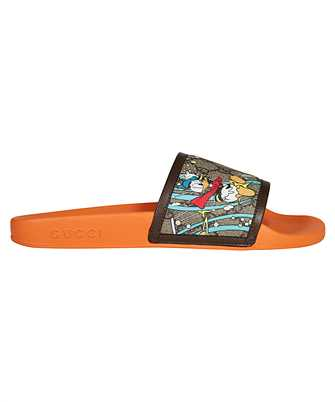 Gucci 649655 2M130 DONALD DUCK Slides