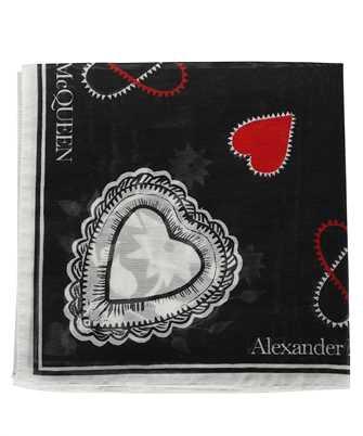 Alexander McQueen 666214 3624Q MYSTIC Schal