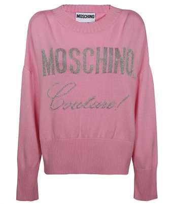 Moschino A 0916 5500 COUTURE LUREX LOGO Knit