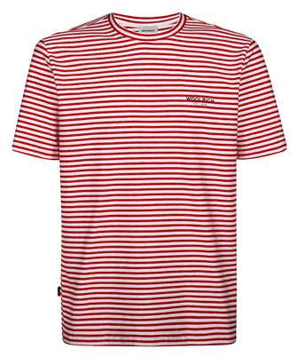 Woolrich CFWOTE0032MR UT2139 STRIPED T-shirt