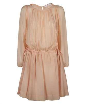 See By Chloè CHS21SRO15031 PINTUCK Dress