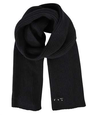 Off-White OWMA034F21KNI001 RIBBED WOOL Scarf