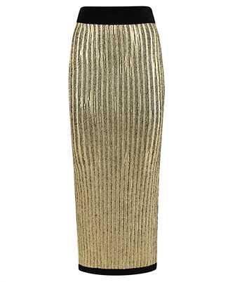 Balmain UF14703K146 METALLIC-EFFECT Skirt