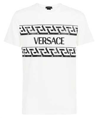 Versace 1002428 1A01780 GRECA ACCENT T-Shirt