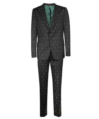 Gucci 630155 ZAD99 HERITAGE INTERLOCKING G STRIPE Suit