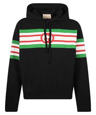 Gucci 646953 XJDAH INTERLOCKING G PRINT Kapuzen-Sweatshirt