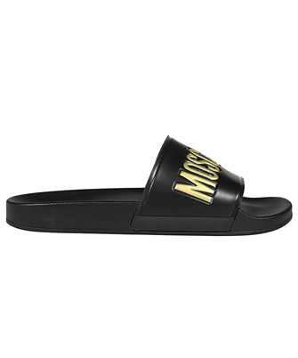 Moschino MB28022G1C G1G PVC WITH LOGO Pantolette