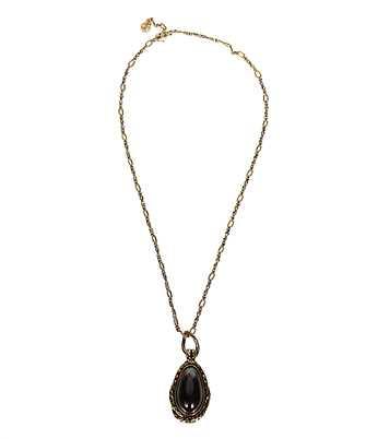 Alexander McQueen 621755 J160T GARNET STONE Necklace