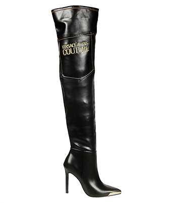 Versace Jeans E0 VUBS02 71157 LOGO GOLD TIP Boots