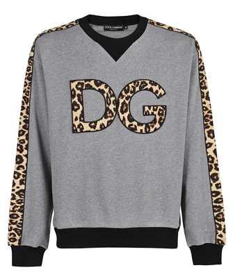 Dolce & Gabbana G9VF5Z FU7DU LEOPARD LOGO Sweatshirt