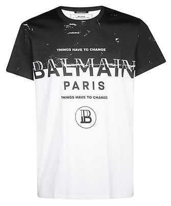 Balmain SH01601I232 T-shirt