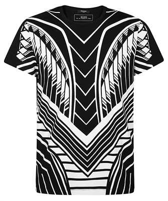 Balmain TH11601I243 GEOMETRIC T-shirt
