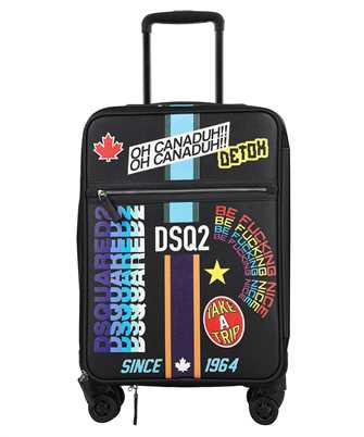 Dsquared2 TYM0002 47503928 TRAVELLER PATCH Suitcase