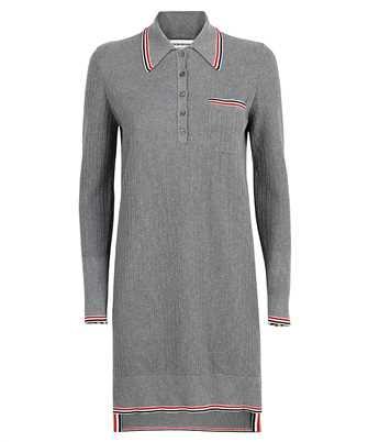 Thom Browne FKD126A Y3009 TEXTURED STITCH LS POLO Dress