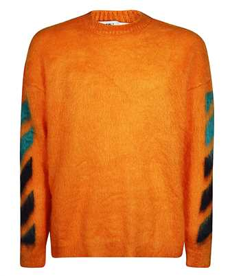Off-White OMHA036R20B02023 BRUSHED MOHAIR Knit