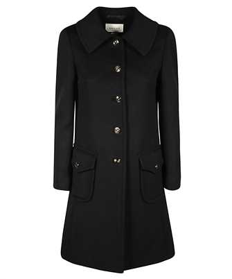Gucci 626300 ZHW03 LOGO BUTTONS Coat
