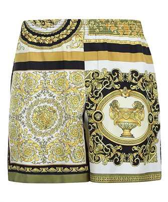 Versace A84097 1F00719 BAROCCO MOSAIC PRINT SILK Shorts