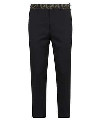 Fendi FB0366 A74Q LOGO FF Trousers