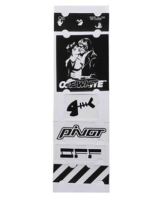 Off-White OMZG034E20MAT003 KISS 21 Set di adesivi