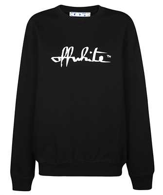 Off-White OWBA055E20FLE001 SCRIPT 21 Sweatshirt