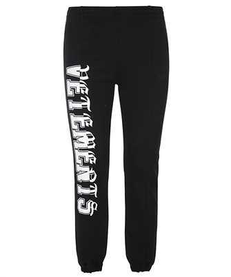 Vetements WE51PA940B VERTICAL CUT-UP LOGO ZIP-UP Trousers