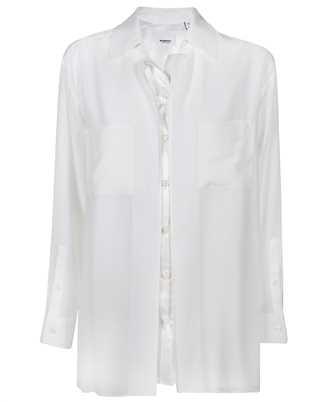 Burberry 4566904 LOGO APPLIQUÉ SILK SATIN OVERSIZED Shirt
