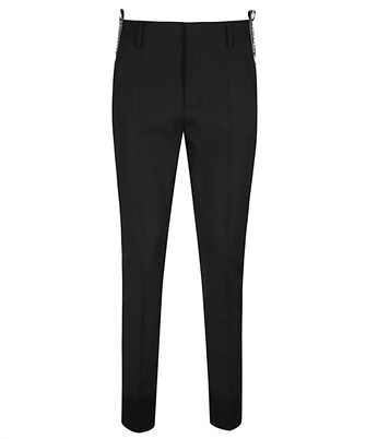 Dsquared2 S75KB0110 S40320 BLACK TAPE CIGARETTE Trousers