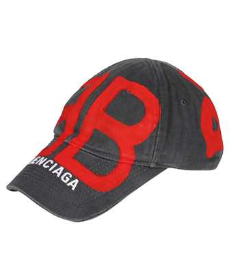 Balenciaga 673321 410B2 BB SPRAYED Cap