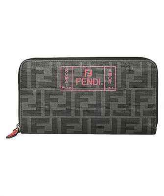 Fendi 7M0210 A7SB ZIP-AROUND Wallet