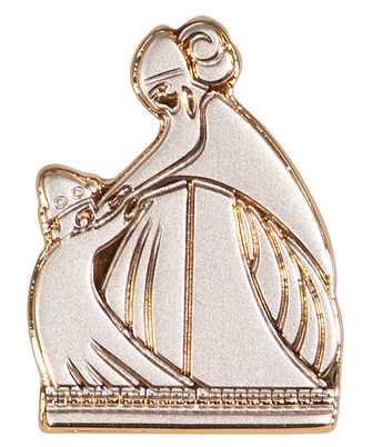 Lanvin AW-SIPZ01-PINS-E20 MOTHER & DAUGHTER Brooch
